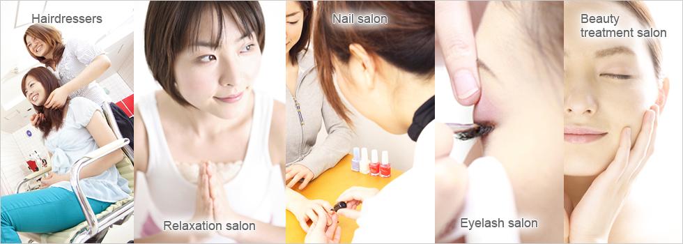 Kansai international beauty salon net